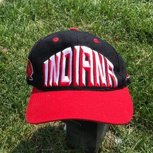 Vintage 1990s Indiana Hoosiers IU Fitted Youth Hat